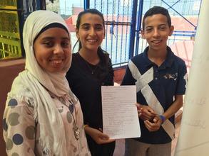 Students at Sidi Moumen in Casablanca