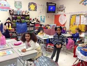 Alderman Road students in Fayettville, NC