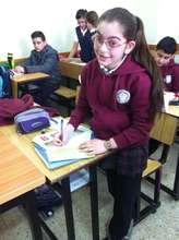 5th graders in Ramallah present on Washington DC
