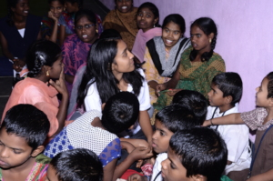 Charity helping orphanchildren in kurnool for food