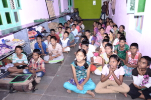Children getting food health shelter frm Orphanage