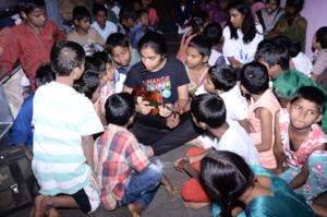 Orphan Kids getting food education sponsorship