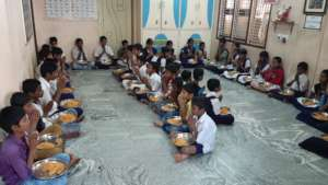 Kurnool Orphanage home getting nutritious lunch