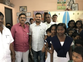 Sponsoring girl child education for their future