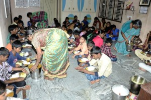best charity donating food poor orphans in seruds
