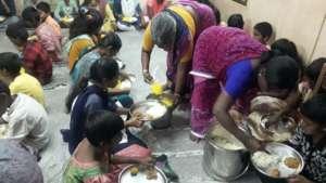 Meal sponsorship for poor children in orphanage