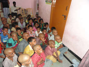 Children are happy for the facilities in Orphanage