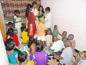 Quality education for destitute orphan children
