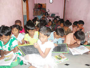 donation of education material support to children