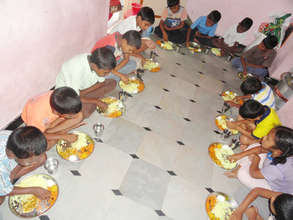 Birthday donation for orphans for dinner program