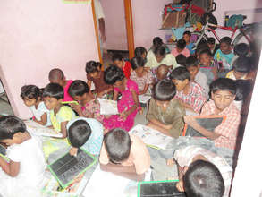 orphan street children at education times
