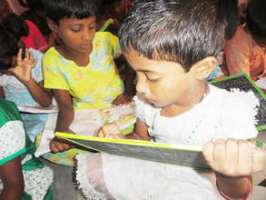 Deprived Orphan child learning quality education