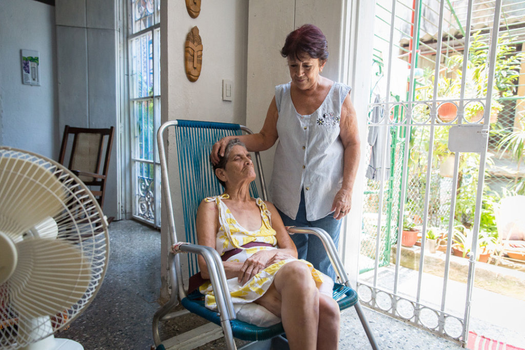 2 Meals/Day for 35 Disabled Cubans in Havana 2019