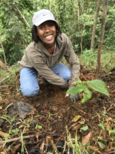 Lydia Planting Trees