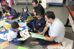 Reading mediation for a child