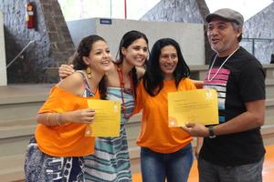 Tassia receives a certificate of multiplier