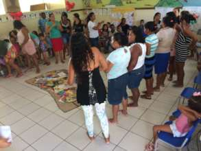 Activity with mothers and children
