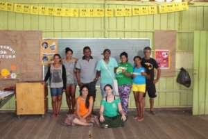 Vaga Lume's educators and the Local Team