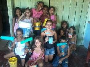 Children from Vista Alegre Community