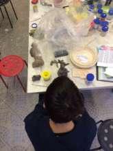 Pottery is stil favorite Ilya's hobby