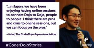 CoderDojo Japan Quote