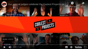 Coolest Projects Celebrity Judges Video