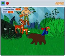 Bhakti's game - 'Save the Animals'