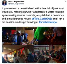 Design Thinking Workshop at Scratch