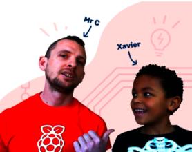 Mr C & Xavier Digital Making at Home Presenters