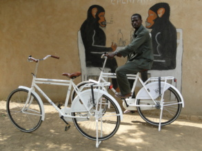 New bicycles help inter-village communications