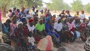 Community Meeting - Village of Kamsi