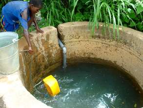Catchment basins raise water levels in local wells