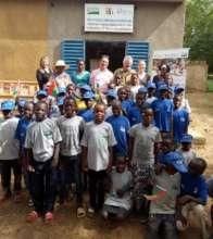 Visit of U.S. ambassador to Boussouma library