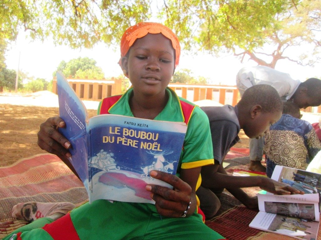 Girl-centered books to 60 village libraries