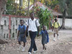 Parents can afford to send their kids to school
