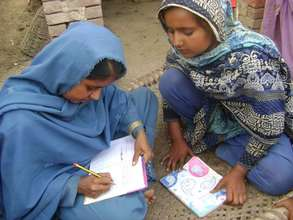 DIL student teaches her mother literacy