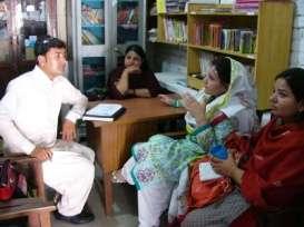 Teachers in a rural DIL School