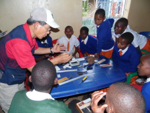 Commitment of Dr. Choi from Solar Mission Africa