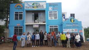 GlobalGiving Team Visiting TAHUDE in Tanzania