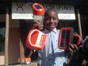 Provide Solar Lantern to Tanzanian School Children