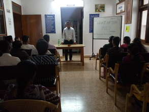 Workshop held at Library