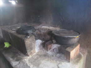 Old smoky stove