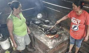 Open fire cookstove