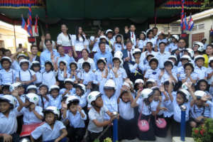 Helmets for Families expands to Kampong Cham.