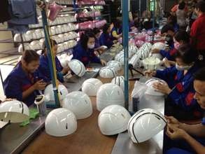 Protec Helmet Factory in Soc Son, Vietnam