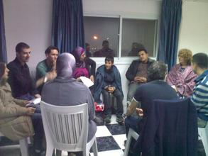 Group in conversation 1
