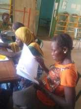 Readers in Kaya library, Burkina Faso