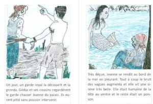 A magic mermaid is always fun to draw!