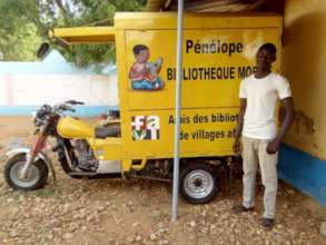 Mobile library garaged in Kaya