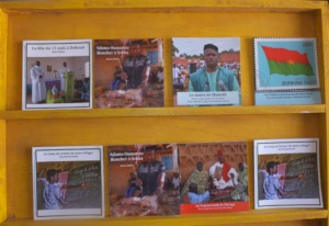 New photo books on display Sebba Library